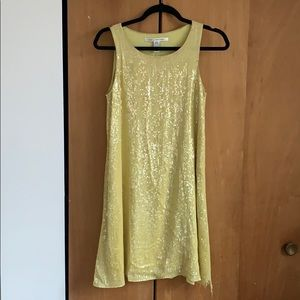DVF Sequin Flapper Dress